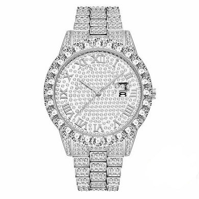 Iced Out 'Rolly' Watch - Frosty Jewelz