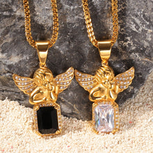 Load image into Gallery viewer, Angel Gem Necklace - Frosty Jewelz