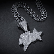 Load image into Gallery viewer, 47 Star Pendant - Frosty Jewelz