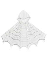 In The Web Hooded Cape