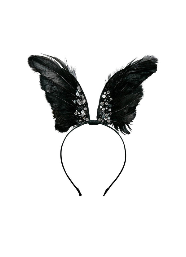 Raven Winged Headband