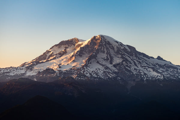 Sunset at Mt. Rainier