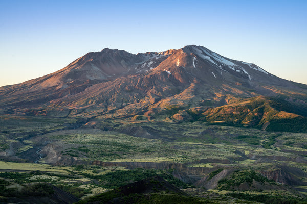 Sunrise at Mt. St Helens