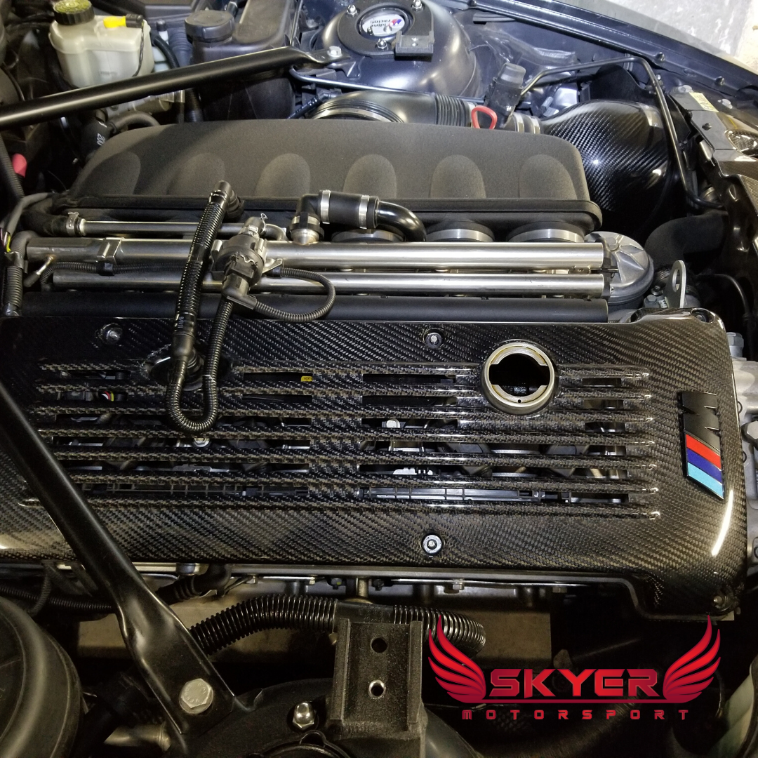 Carbon BMW S54 Engine Cover