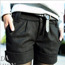 Load image into Gallery viewer, Bootcut Shorts Plus Size Shorts