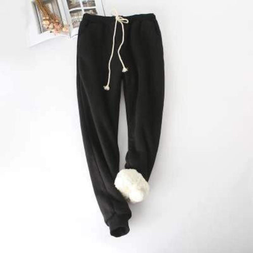 Winter Lambskin  Waist Pants