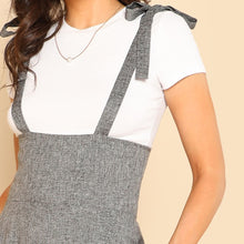 Load image into Gallery viewer, Grey Sleeveless High Waist Jumpsuit