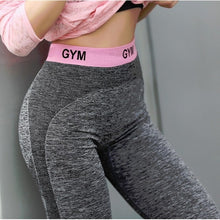 Load image into Gallery viewer, Slim Fitness High Waist Elastic Leggings