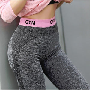 Slim Fitness High Waist Elastic Leggings