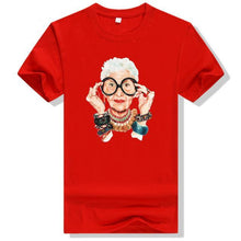 Load image into Gallery viewer, Old Women Print T Shirt