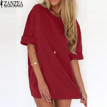 Load image into Gallery viewer, Sexy Mini Dress Short Sleeve