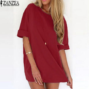 Sexy Mini Dress Short Sleeve