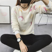 Load image into Gallery viewer, Casual O-neck long-sleeved sweater