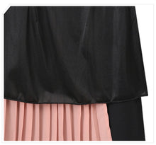 Load image into Gallery viewer, Chiffon Asymmetry High Waist Skirt
