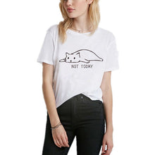 Load image into Gallery viewer, Cute Cat Print Women T-Shirt