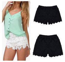 Load image into Gallery viewer, Summer Lace Floral Shorts