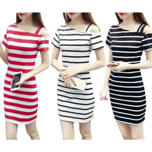 Load image into Gallery viewer, Short Sleeve Casual Dress