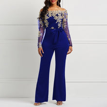 Load image into Gallery viewer, Jumpsuit Luxury Transparent Off Shoulder