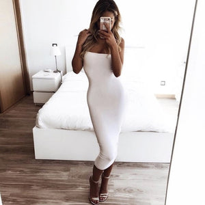 Sexy Off Shoulder Tube Dress