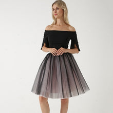 Load image into Gallery viewer, Pleated Dance Tutu Skirt