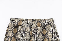 Load image into Gallery viewer, Snake Print Set Wear