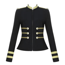 Load image into Gallery viewer, Elegant Long Sleeve Bandage Jacket