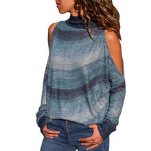 Load image into Gallery viewer, Sexy off-shoulder Sweater