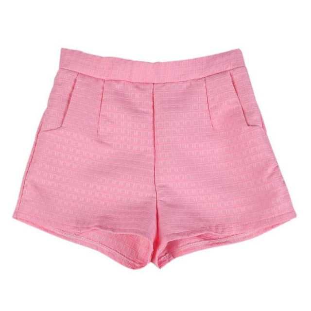High Waist Summer Shorts