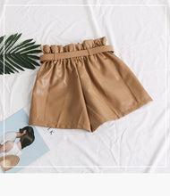 Load image into Gallery viewer, Cool Punk Sashes Wide Leg Shorts