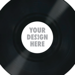 "4"" Custom Control Vinyl Label"