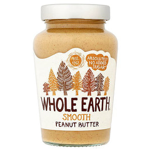 Whole Earth Smooth Peanut Butter 454g / 1kg