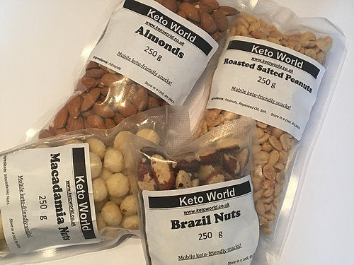 KetoWorld Nuts Bundle (250g)