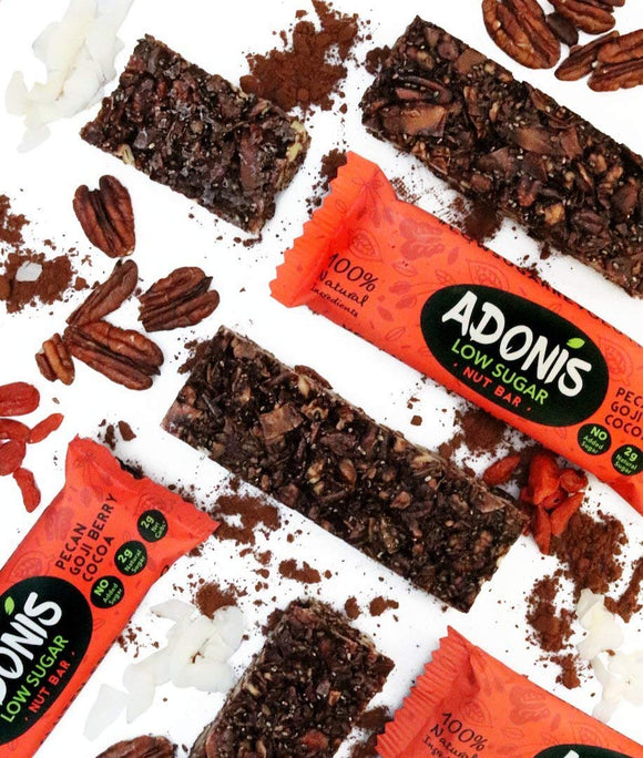 Adonis Crunchy Pecan and Coconut Snack Bars x5