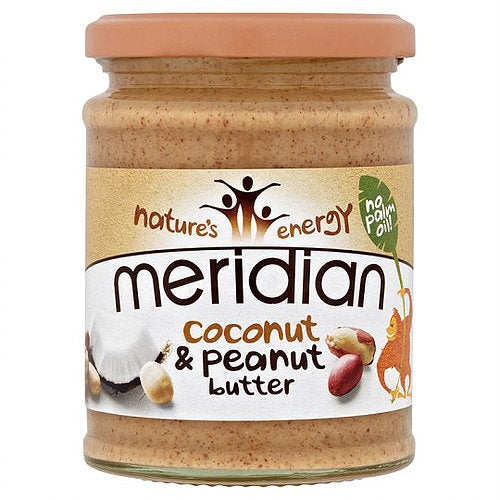 Meridian Coconut And Peanut Butter Smooth 280g