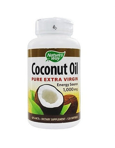 Nature's Way Coconut oil (pure extra virgin) capsules
