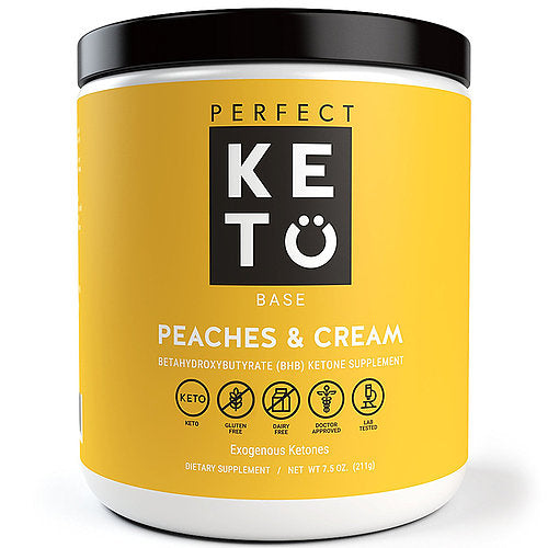 Peaches & Cream Ketone Supplement