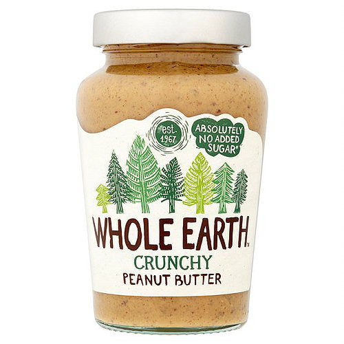 Whole Earth Crunchy Peanut Butter 454g / 1kg