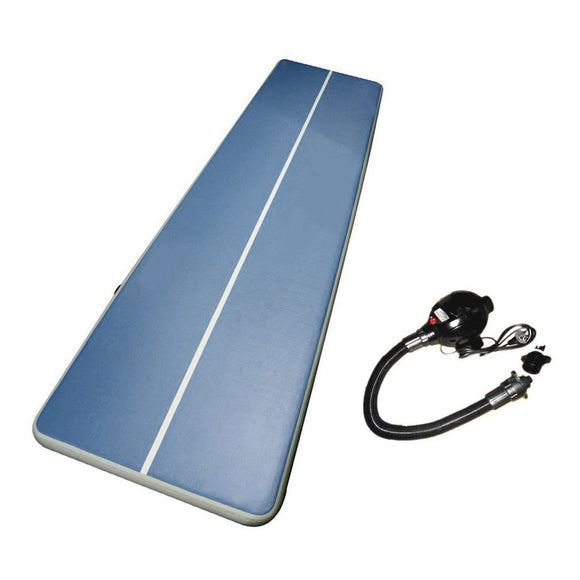 6M Inflatable Gymnastics Mat with Electric Pump