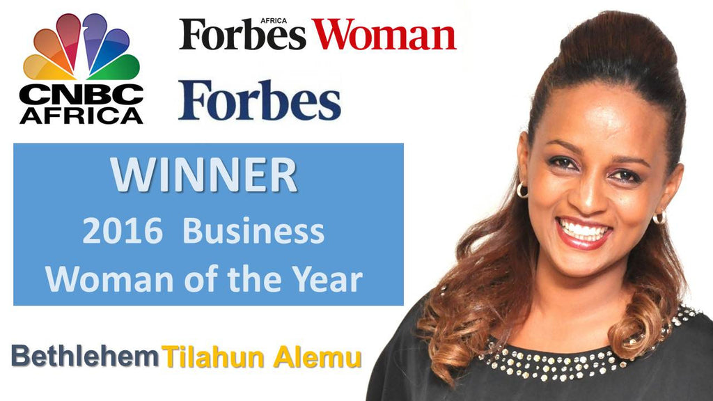 Bethlehem Wins 2016 Businesswoman of The Year Award from AALBA, CNBC & FORBES