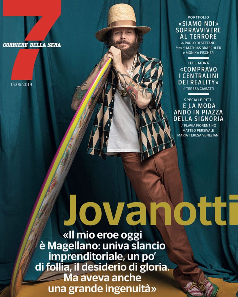 Jovanotti, Italy's Biggest Rap & Rock Star, Spotted Wearing soleRebels!