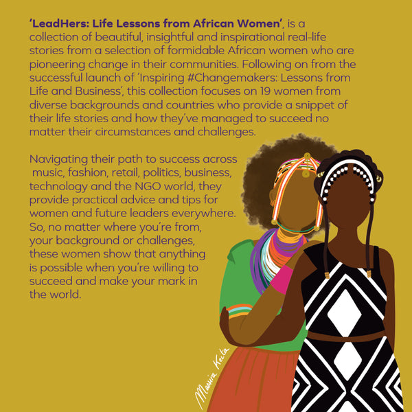 Facebook Africa Book, LeadHers, featuring soleRebels Founder