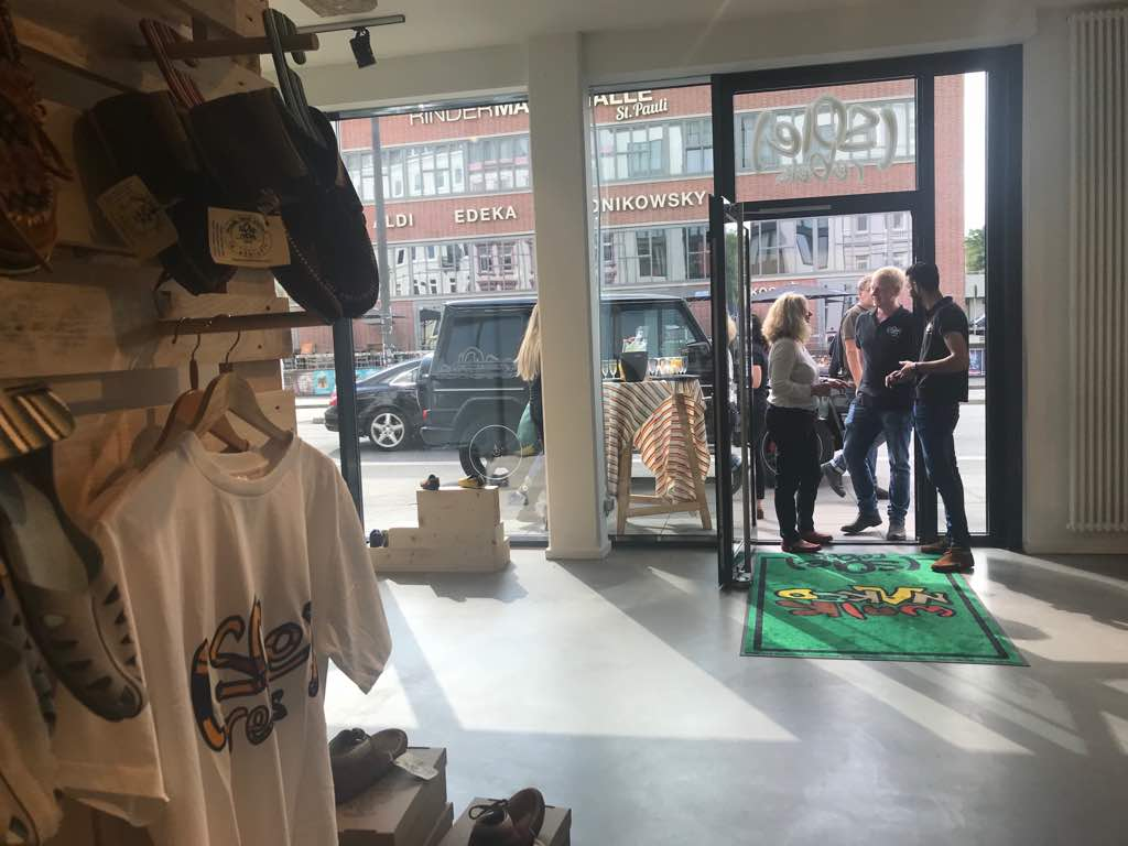 Fair Trade Shoe Store opening in Hamburg, Germany