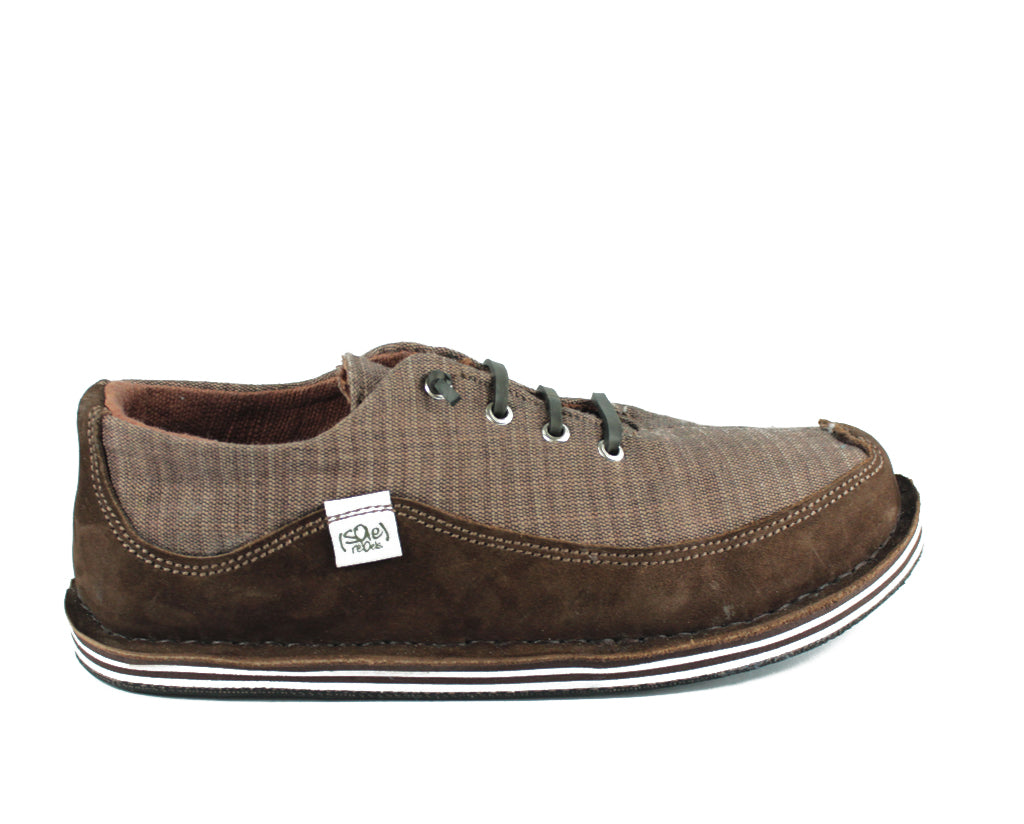 solerebels Chestnut Brown BENJAMINS iNTR Lace-Ups