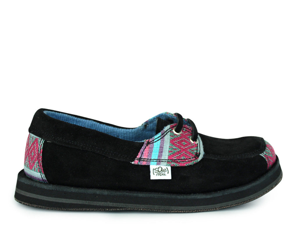 solerebels Black riff TALENT Slip-Ons