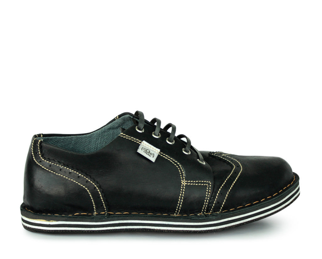 solerebels Black the SURGE aby Lace-Ups