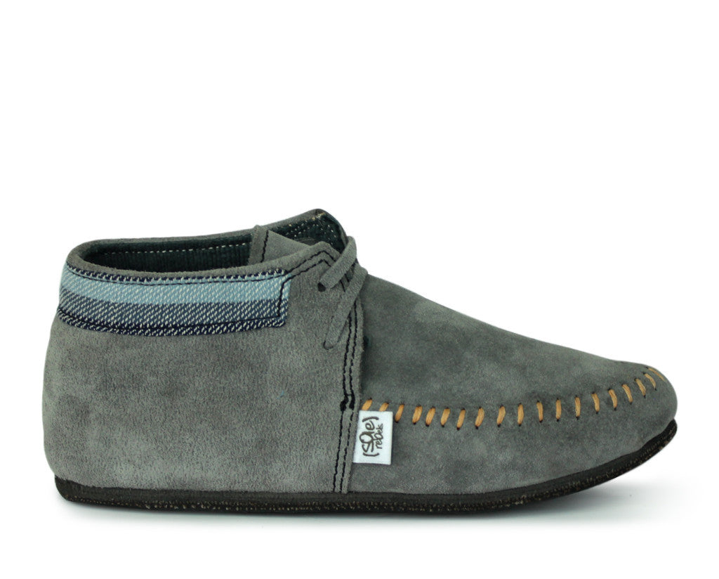 solerebels Grey mocUP trim Slip-Ons
