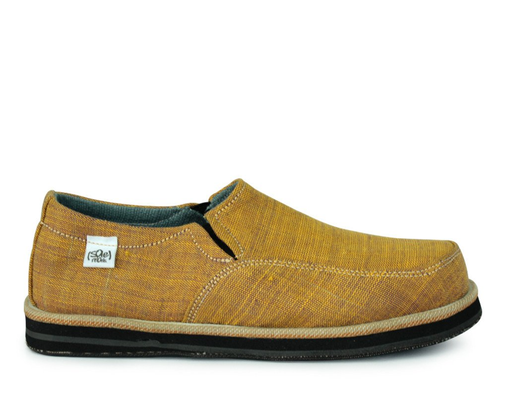 solerebels Yellow abyssinian PURE mSh Slip-Ons