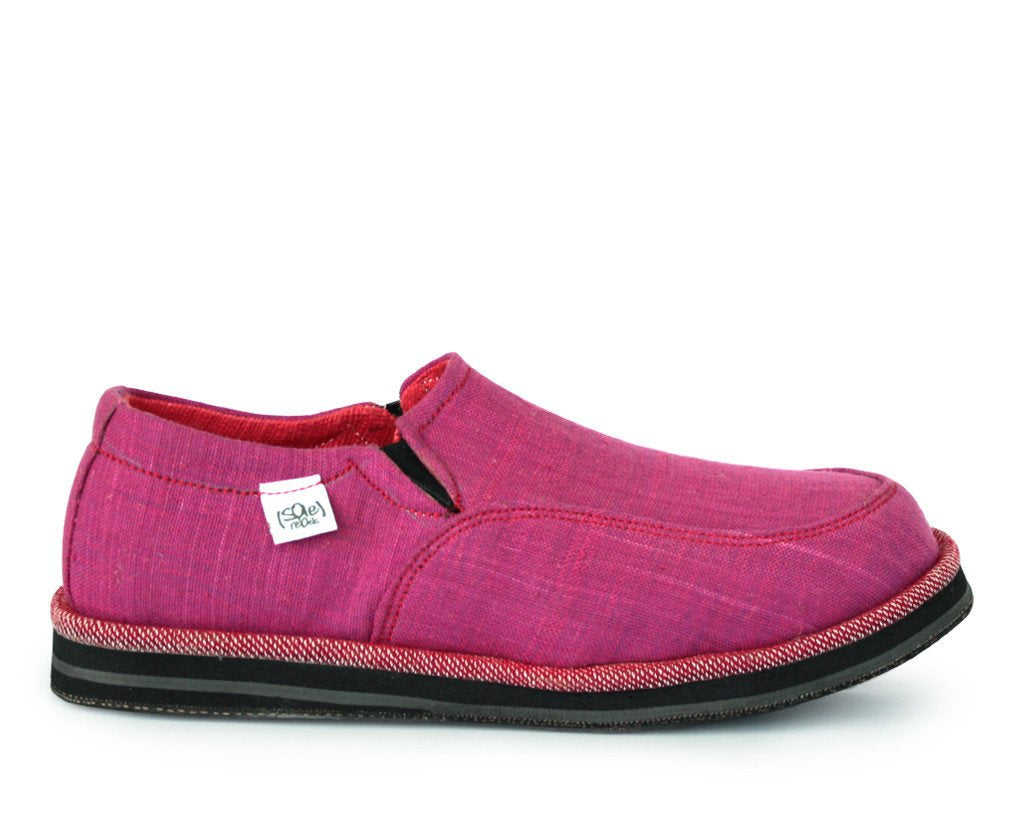 solerebels Pink abyssinian PURE mSh Slip-Ons