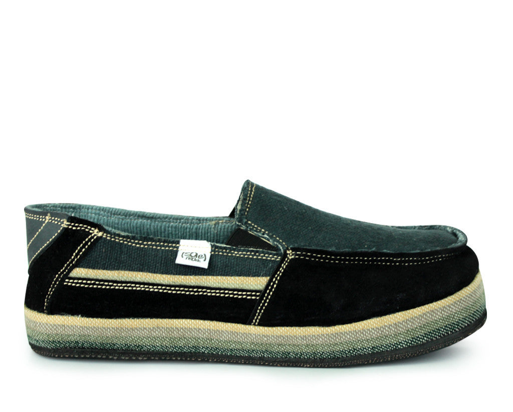 solerebels Black nesta UPWARDS Slip-Ons
