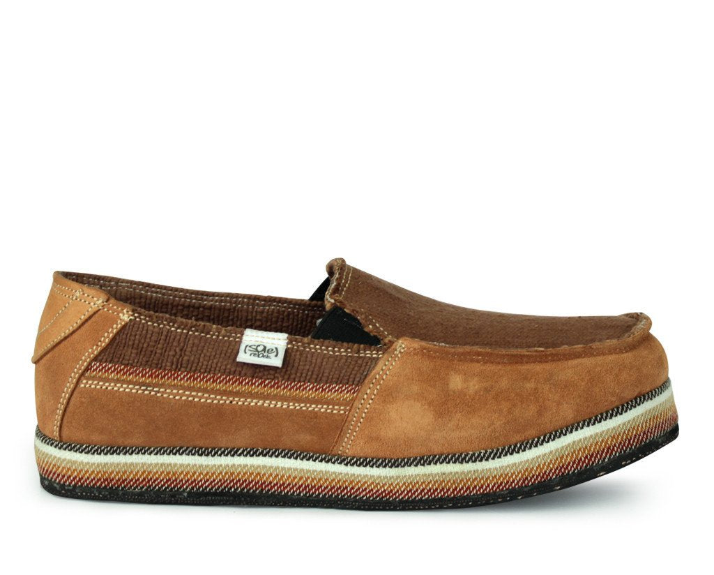 solerebels Tan nesta UPWARDS Slip-Ons